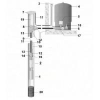 Комплект водоснабжения для скважины №4 (30м)